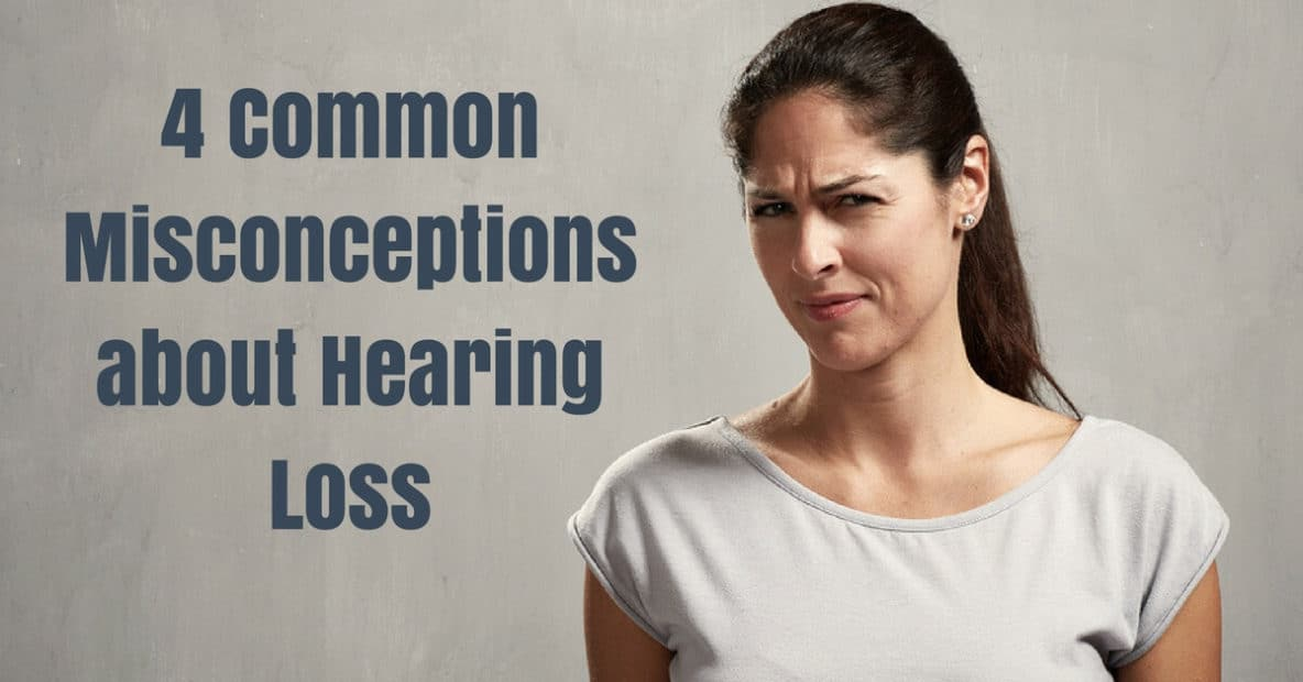 A big part of seeking treatment for hearing loss is understanding the realities of the condition. Because there is much weight attached to the topic of hearing loss, we thought we'd clear up a few common misconceptions about the condition.